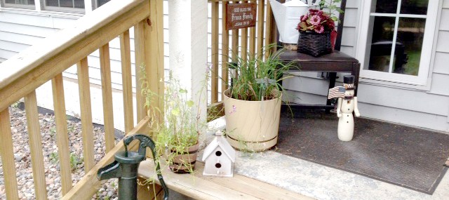 Front Porch Decor – Easy DIY