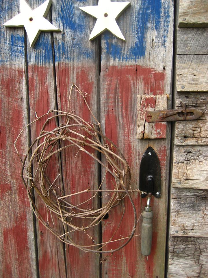 DIY garden shed handle {Love My DIY Home}