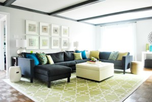 Young House Love living room redo