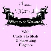 Love My DIY Home featured on What to do Weekends