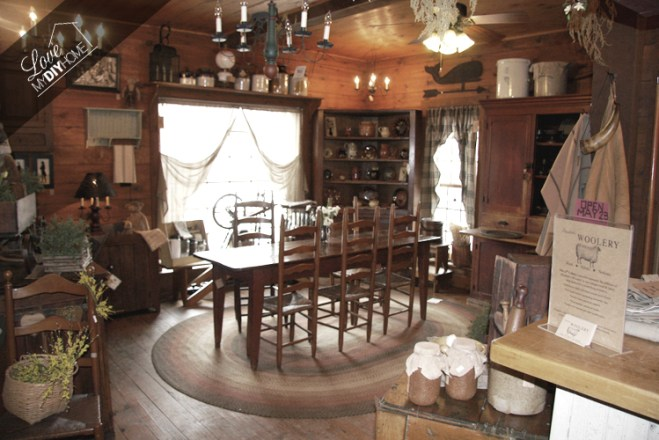 The Thirteenth Colony Antique Store | Love My DIY Home