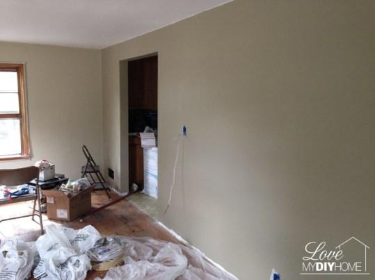 Livingroom Reno Progress {Love My DIY Home}