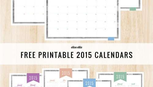 Free Printables by Eliza Ellis