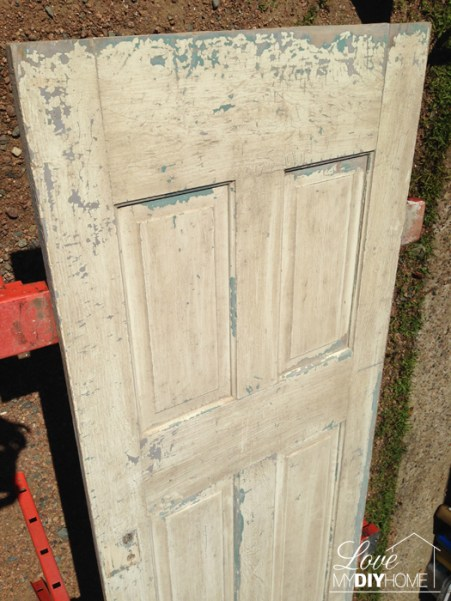 Antique Door Upcycle {Love My DIY Home}