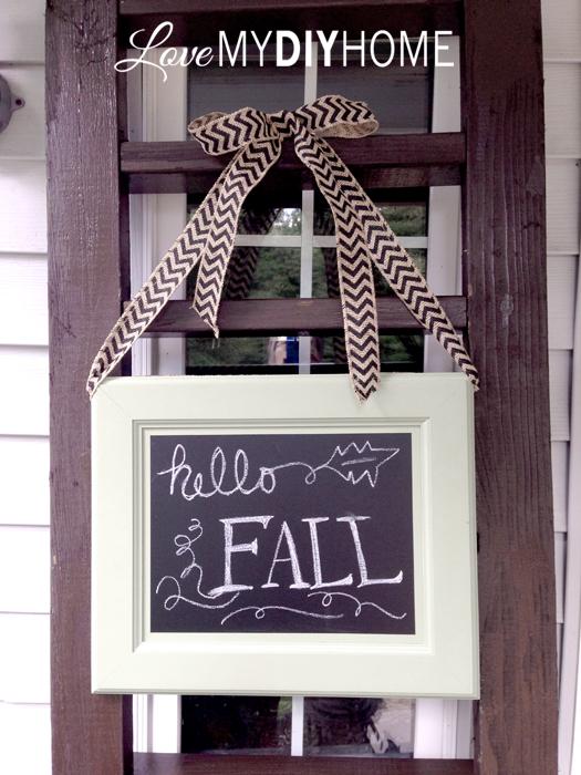 Fall Porch & Blog Hop 2015 {Love My DIY Home}