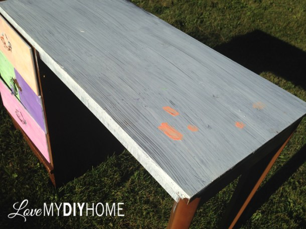 Desk Flip {Love My DIY Home} #FFFC