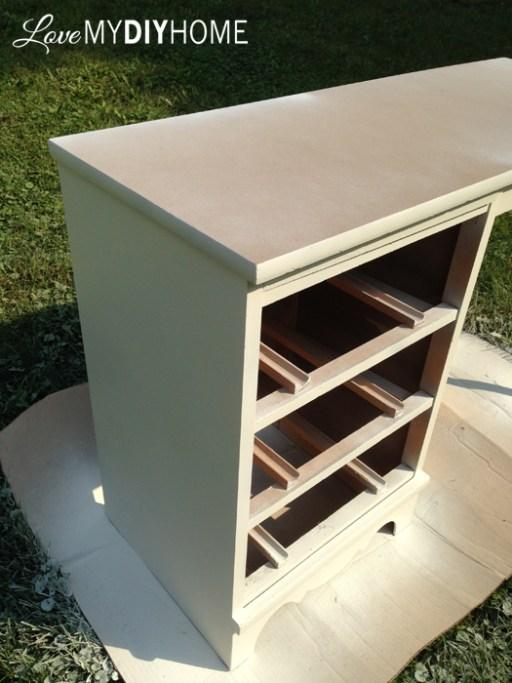 Desk Flip {Love My DIY Home} #FFFC
