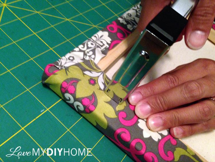 DIY Duck Cloth Canvases {Love My DIY Home}
