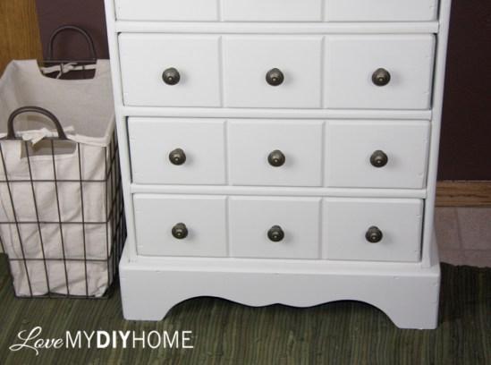 An Apothecary Cabinet Flip - A Fresh Start {Love My DIY Home}