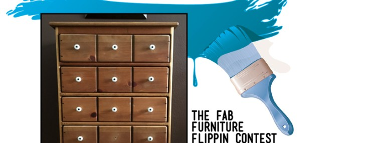 An Apothecary Cabinet Flip – A Fresh Start