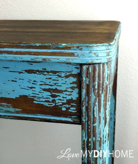 DIY Enhancing of a Side Table {Love My DIY Home}
