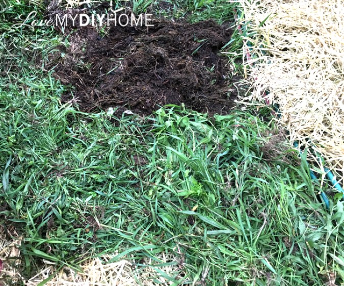 Using Weeds and Yard Clippings for Mulch {Love My DIY Home}
