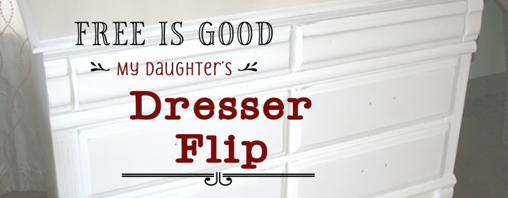 FREE Dresser Gets an Upgrade – Wowzers!