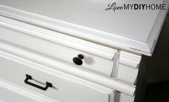FREE Dresser Gets an Upgrade {Love My DIY Home}
