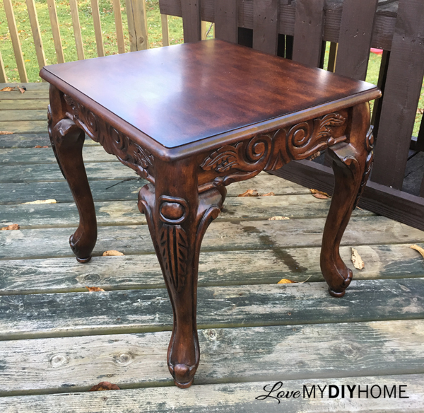 Coffee and End Tables Flip {Love My DIY Home}