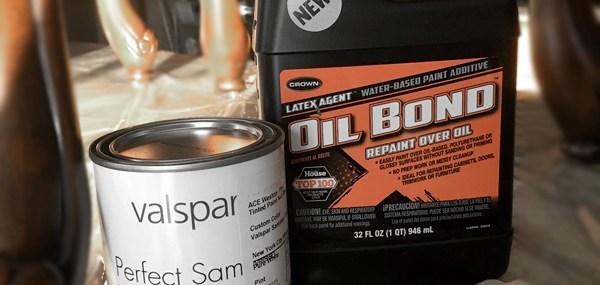 Oil Bond.Valspar Paint