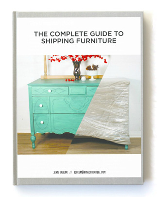 The Complete Guide to Shipping Furniture {Love My DIY Home}