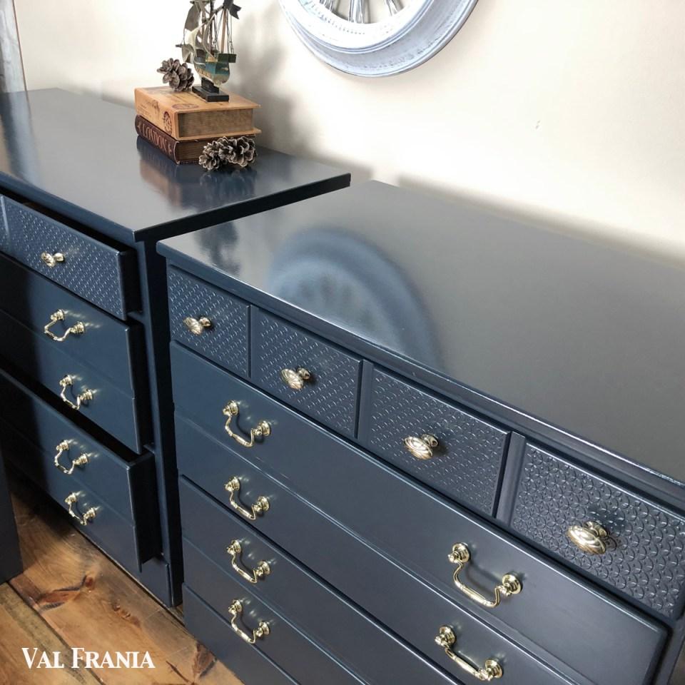 Navy Blue Dresser Tops