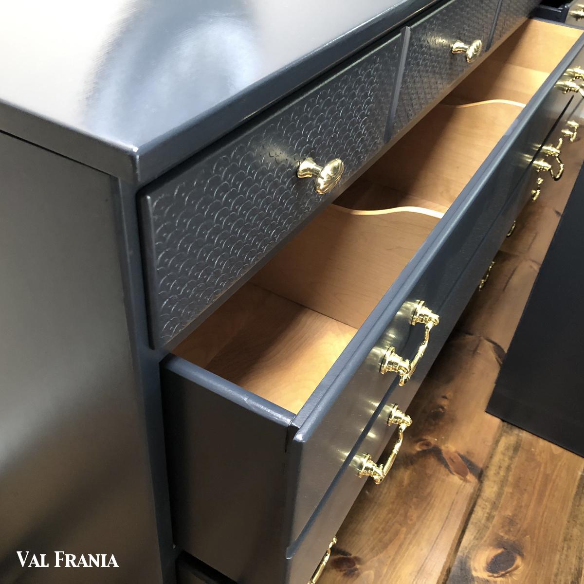 Navy Blue drawer