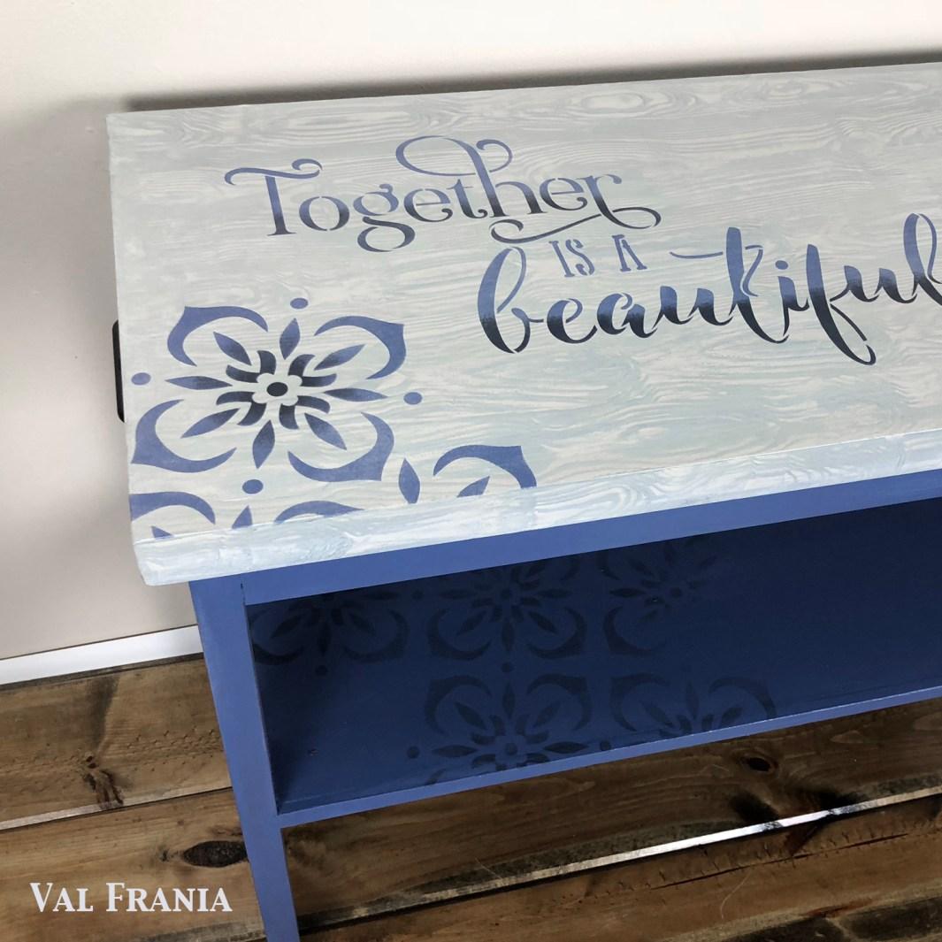 +Better Tog Table corner