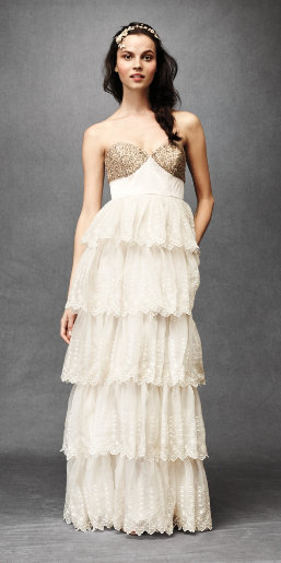 BHLDN Wedding Gowns By Anthropologie A Refreshing New