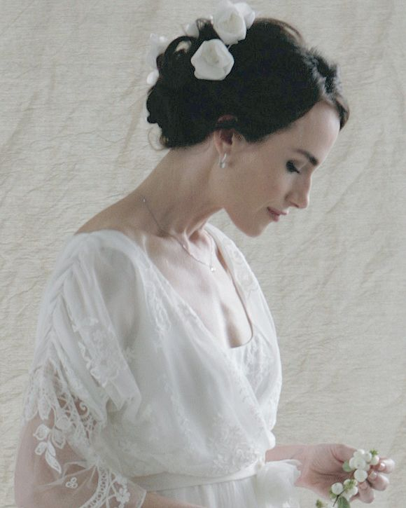 Sally Lacock Silk And Lace Wedding Dresses