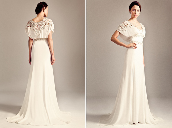 Temperley Wedding Gowns: The Temperley Bridal Iris Collection For 2014/15