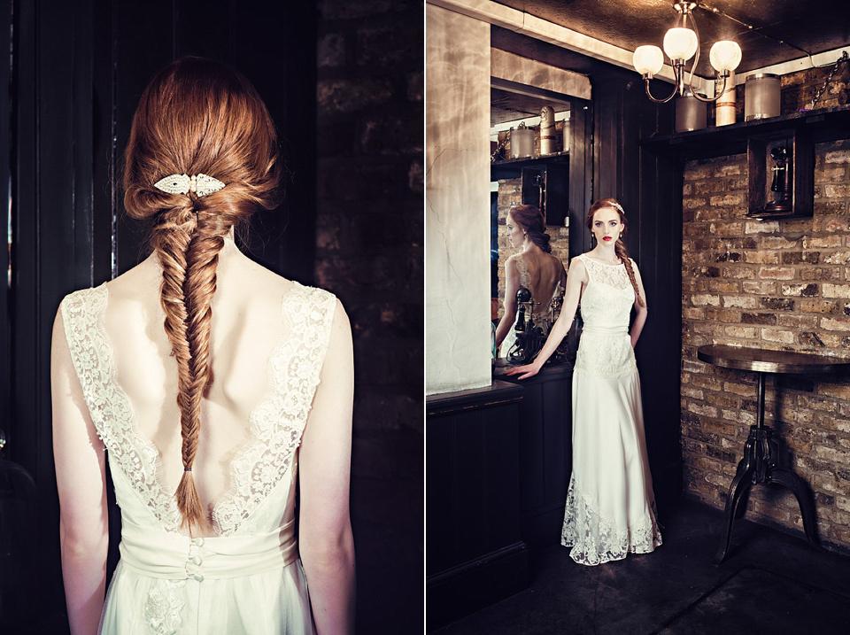 Joanna Hehir 2014 Wedding Dress Collection: A Touch Of