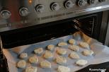 laat in de oven op 180 graden in ca.20 minuten gaar worden