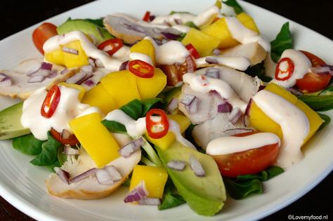 salade met mango 1