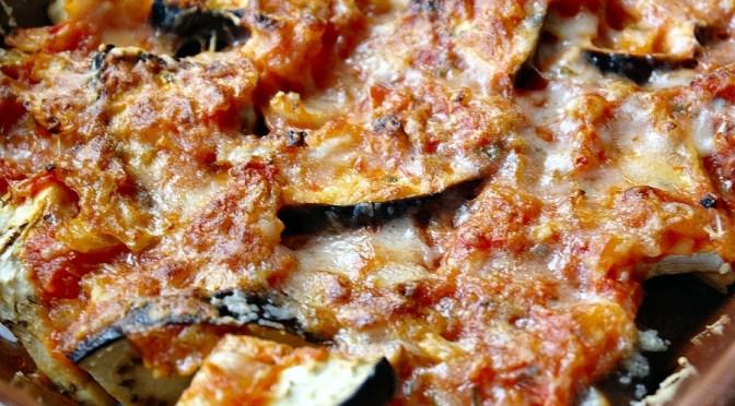 Aubergine uit de oven