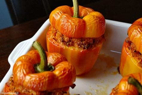 gevulde paprika 3