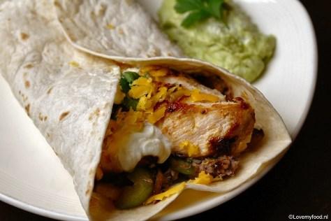 Mexicaanse wraps met kip 5