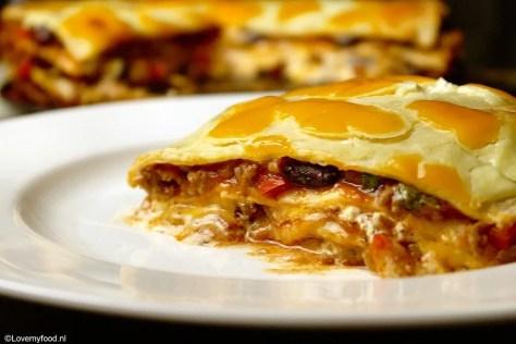 Mexicaanse lasagne 3