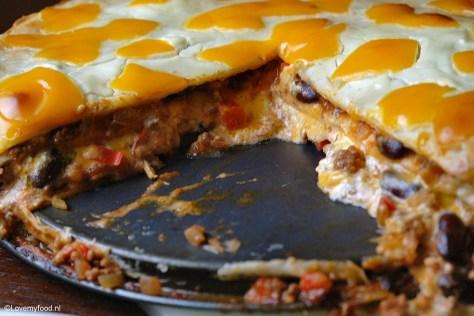 Mexicaanse lasagne 4