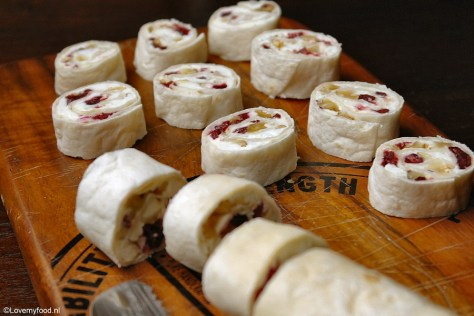wraps met cranberry, feta en walnoot 3