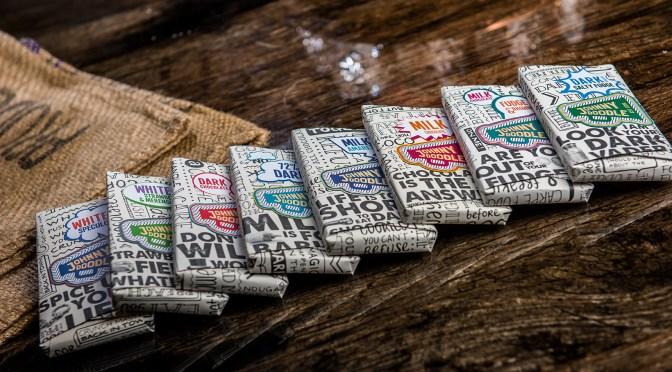 De 8 nieuwe chocoladesensaties van Johnny Doodle