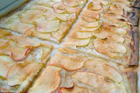 Flammkuchen met appel 2