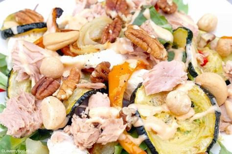 Salade met gegrilde goenten 3