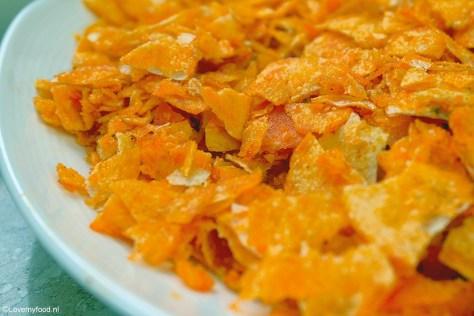 crunchy kip met paprikachips 1