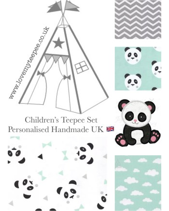 personalised teepee set