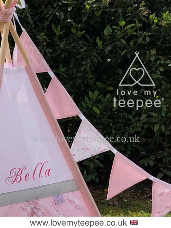IMG 4689 - Magical Pink Unicorn Teepee Tent