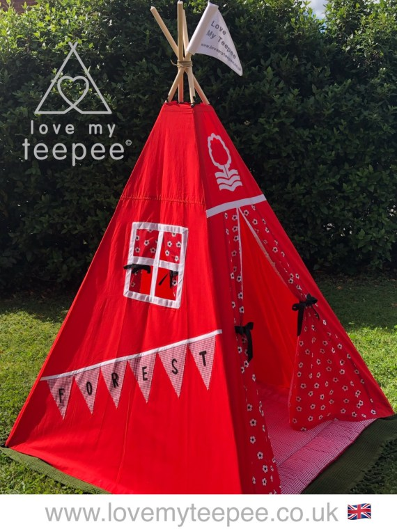 nottingham forest football club teepee