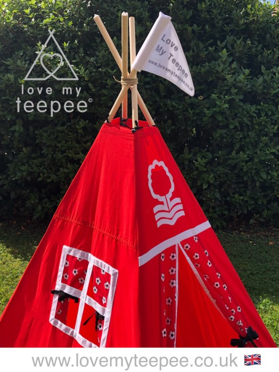 nottingham forest football teepee