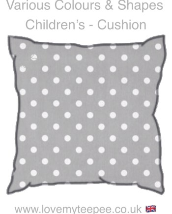 childrens polka dot cushions