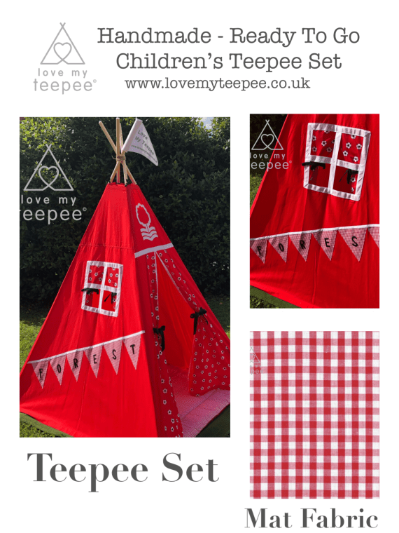 nottingham forest football teepee set