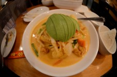 Thai Food in Hell's Kitchen, best avocado curry I've had!