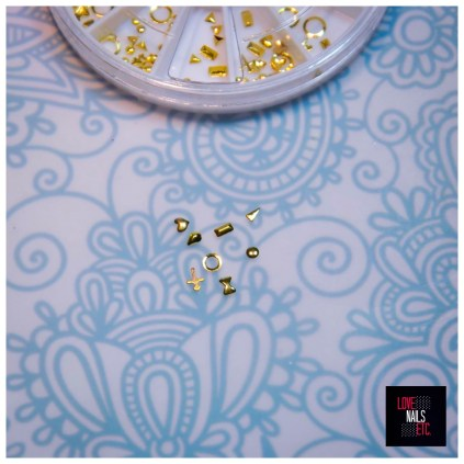 Nail Art Wheel Studs BPS2