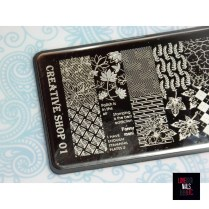 Creative Shop Stamping Plate 01
