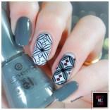 Stamping Master Rouge & Gris